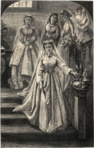 Chapter LXXIX: Alice and her bridesmaids.